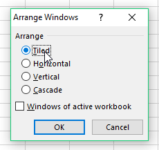 Arrange Windows